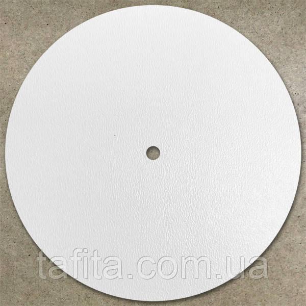 Круглая подложка с отверстием для многоярусного торта из белого ДВП (Ø 35 см)