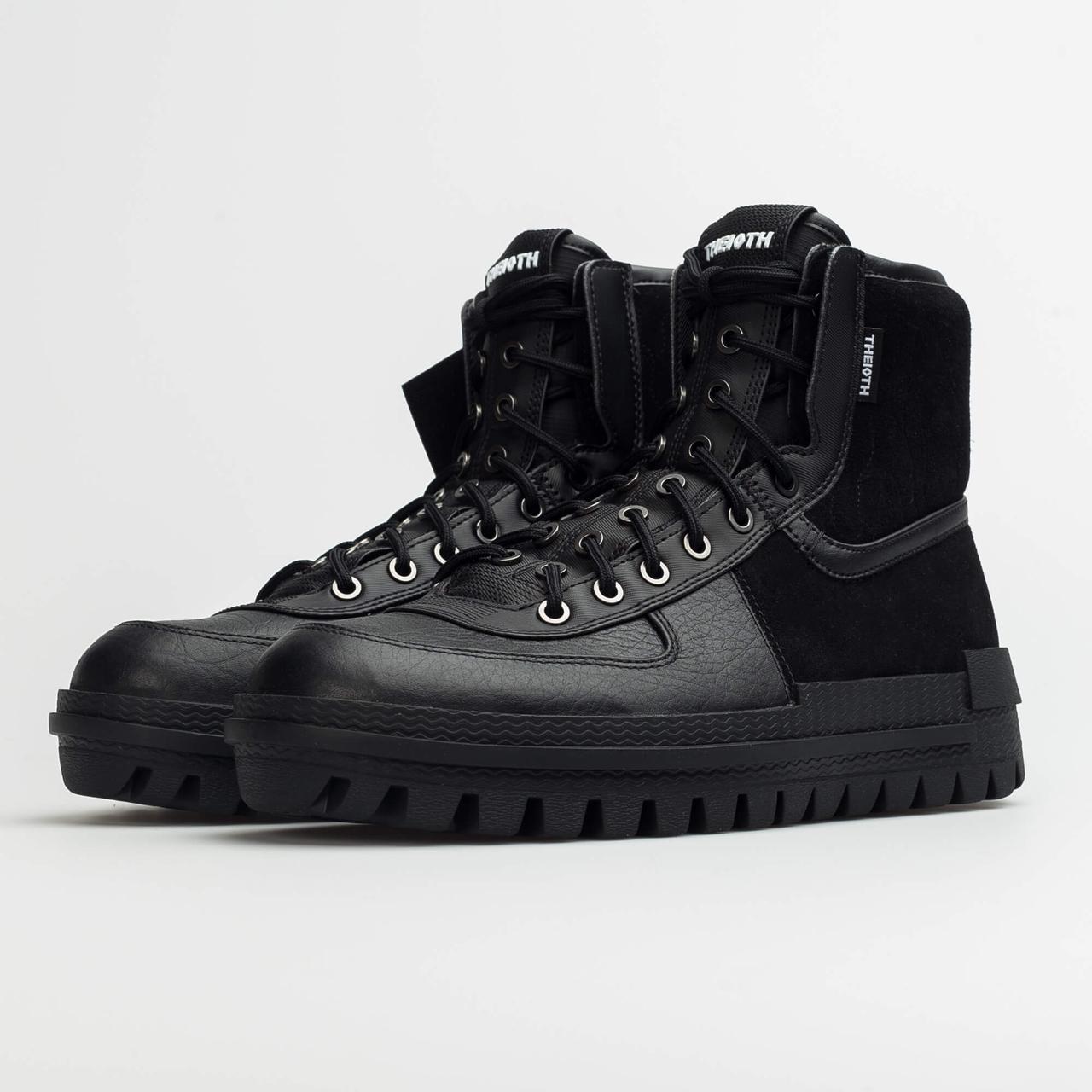 BQ5240-001 Nike Xarr Black оригинальные черные кожаные кроссовки