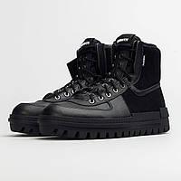 BQ5240-001 Nike Xarr Black оригинальные черные кожаные кроссовки, фото 1