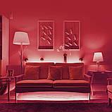 Стрічка червона 14,4W/м вологозихищена 60LED/м IP65 світлодіодна МТК-300RF5050-12 №1, фото 3