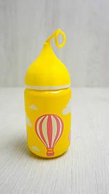 Детская бутылочка для напитков(стекло)250мл.