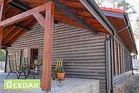 Фиброцементный сайдинг Cedar Premium, сланец