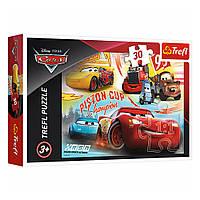 """Пазл """"Тачки-3. Команда чемпионов"""", 30 элементов Trefl Disney Cars 3 (5900511182330)"""