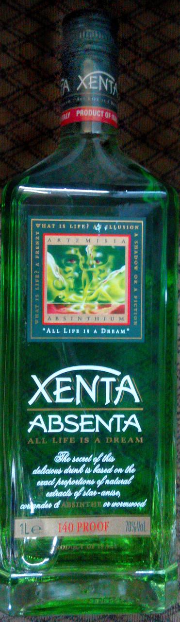 Абсент Ксента 0,7л / Xenta Absenta 0,7L 70%