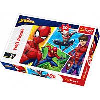 """Пазл """"Спайдермен и Мигель"""", 30 элементов Trefl Disney Marvel Spiderman (5900511182422)"""