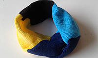 Детский вязанный хомут-шарф