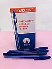 Канцелярська кулькова ручка Ball Point RD555-A синя 50 шт, фото 4