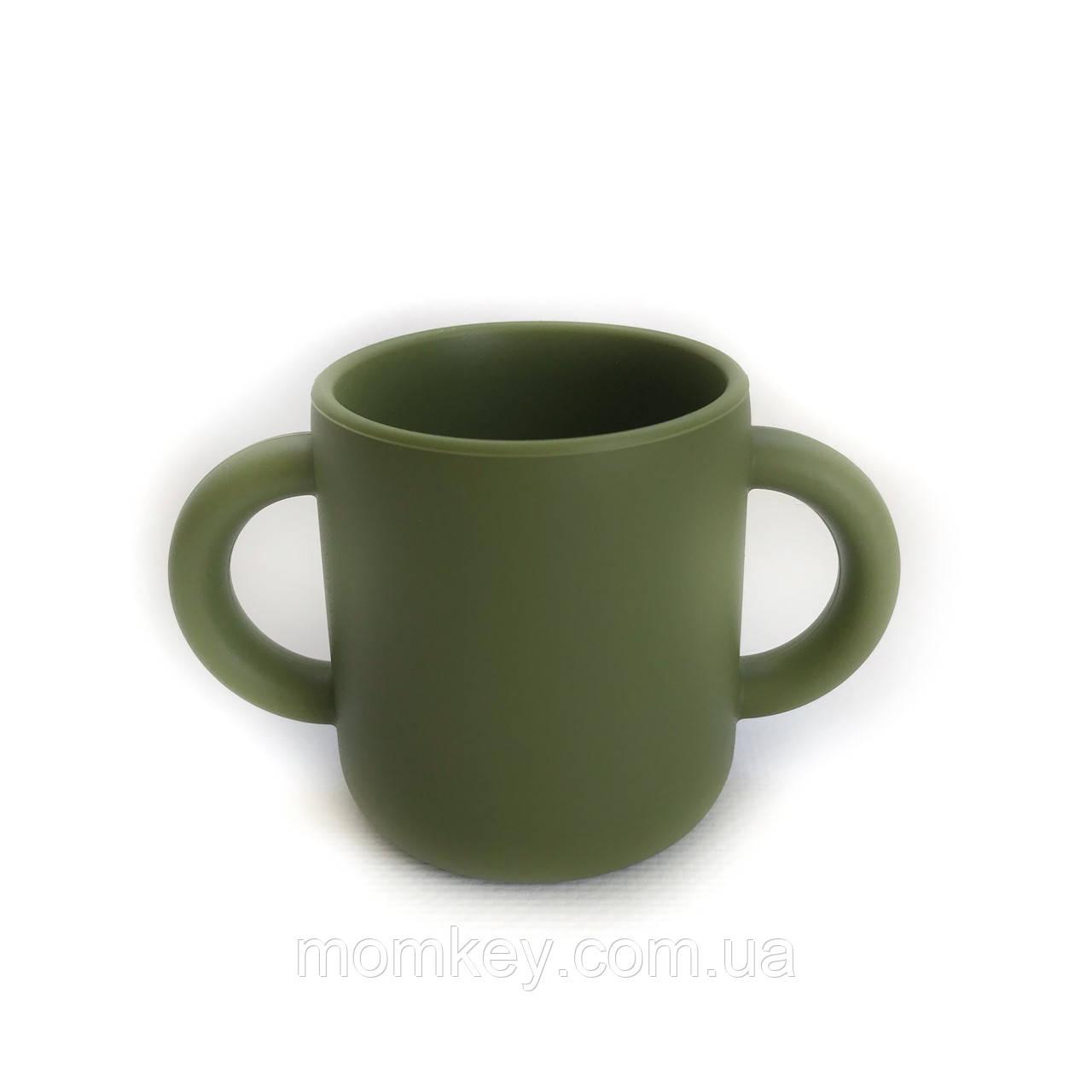 Чашка з двома ручками (хакі)