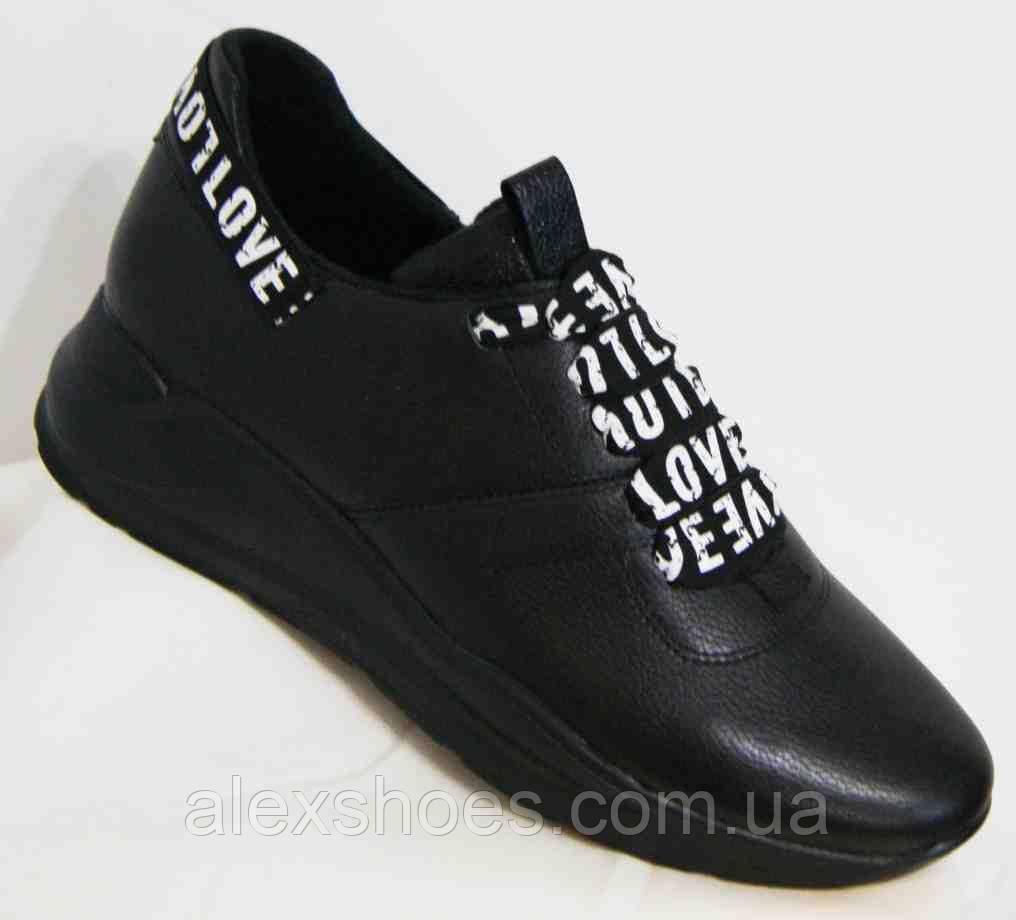 Туфли женские большого размера из натуральной кожи от производителя модель В9494-11
