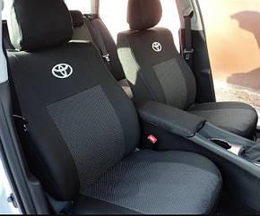 Чехлы на сидения Toyota Prius c 2013 г - Elegant