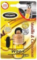 Ароматизатор в машину Aroma Car Wood Vanilla&Chinamon