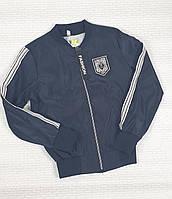 Ветровка куртка темно-синяя на рост 122,128,134 см ,Украина