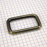 Рамка проволочная 40 мм тертый антик для сумок a6060 (20 шт.)