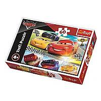 "Пазл ""Тачки-3. Легендарная гонка"", 60 элементов Trefl Disney Cars 3 (5900511173345)"