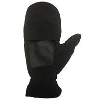 Двойные варежки-перчатки Tramp Fleece TRCA-006-S/M Black, фото 2