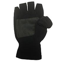 Двойные варежки-перчатки Tramp Fleece TRCA-006-S/M Black, фото 3