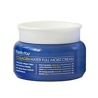 Увлажняющий крем для лица с коллагеном Farmstay Collagen Water Full Moist Cream 100 г