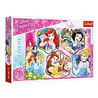 """Пазл """"Магія Принцес"""", 100 елементів Trefl Disney Princess (5900511163391)"""