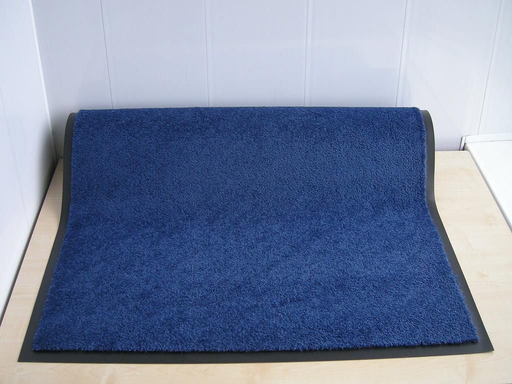 Коврик грязезащитный Элит 90х120см., цвет синий