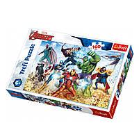 """Пазл """"Мстители. Готовые спасти мир"""", 160 элементов Trefl Disney Marvel The Avengers (5900511153682)"""