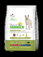Сухий корм для собак Natural Trainer Dog Sensitive Plus Adult MM With Horse 3 кг з кониною