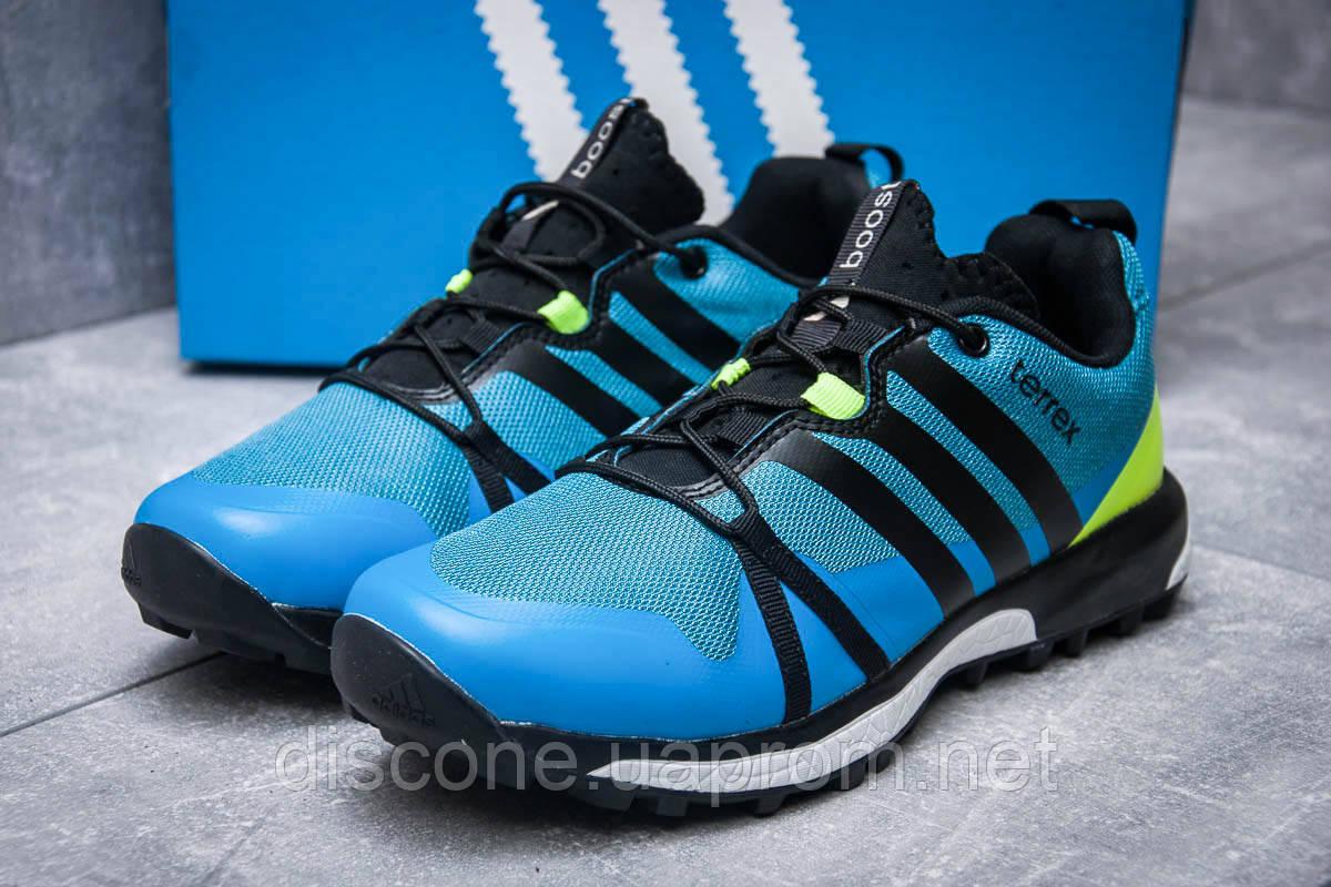 Кроссовки мужские 11661 ► Adidas Terrex Boost, синие ✅SALE! 55% [ 42 ] ► (42-26,5см)