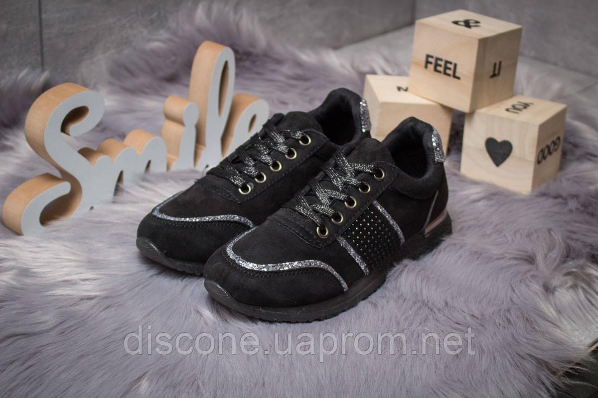 Кросівки жіночі 14281 ► Ideal Black, чорні ✅SALE! 33% [ 36 37 38 ] ► (36-22,8 см)
