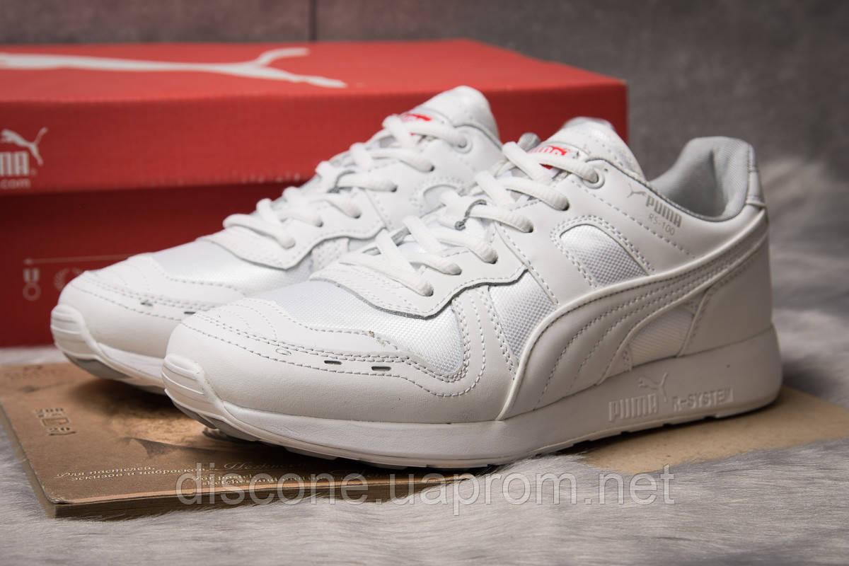 Кроссовки мужские 14932 ► Puma Roland RS-100, белые ✅Скидка 28% [ 44 ] ► (44-28,2см)