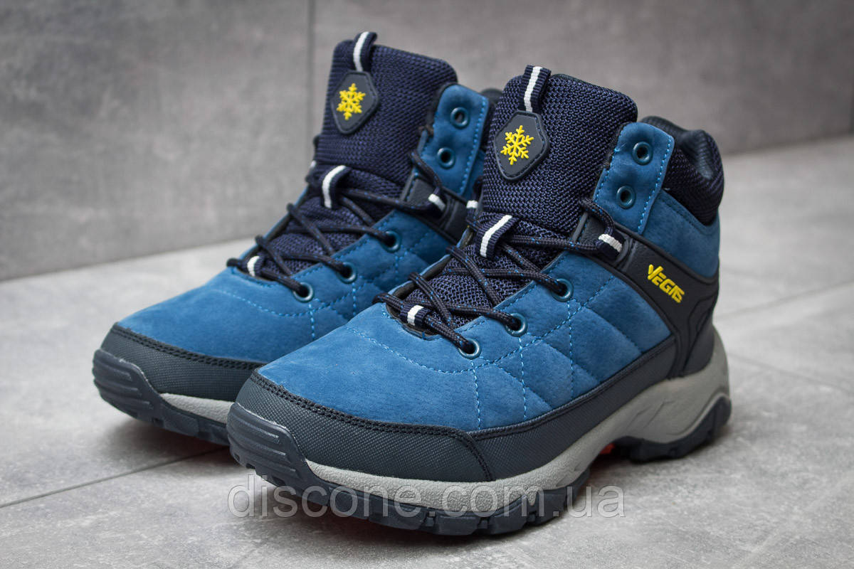 Зимние женские ботинки 30154 ► Vegas, синие ✅SALE! 47% [ 36 ] ► (36-22,1см)