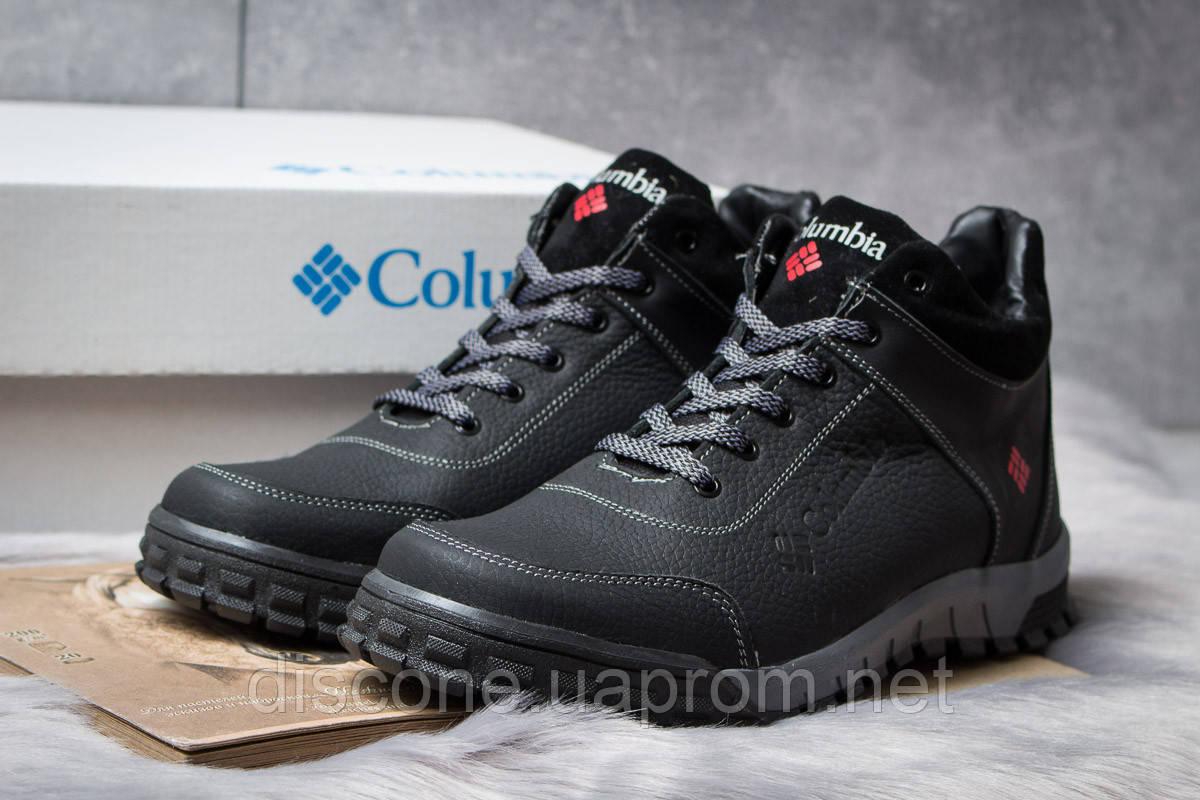 Зимние мужские ботинки 30831 ► Columbia Track III, черные ✅SALE! 38% [ 40 ] ► (40-26,8см)