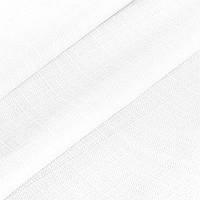 Декоративная однотонная рогожка белая 290 см 87809v1