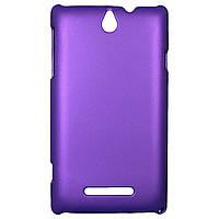 Чехол Colored Plastic для Sony Xperia E Violet