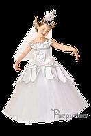 Детский карнавальный костюм Царевна-Лебедь Код. 631