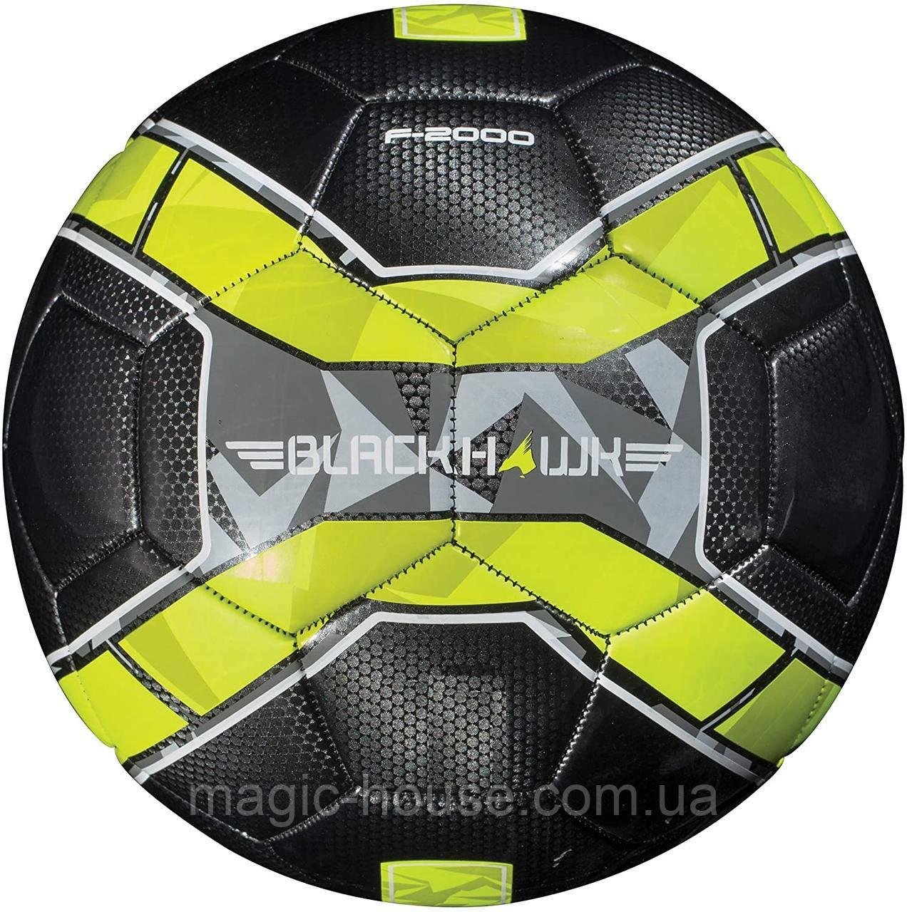 Мяч футбольный игровой Franklin Sports Blackhawk Soccer Ball размер 5