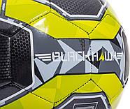 Мяч футбольный игровой Franklin Sports Blackhawk Soccer Ball размер 5, фото 3