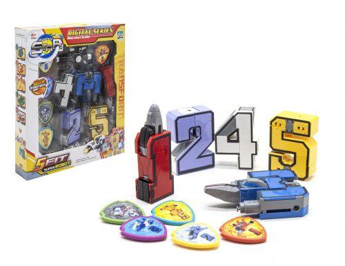 Набор трансформеров-цифр,робот 2 188-2Y
