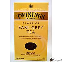 Черный чай Twinings Earl Grey 100г, фото 1