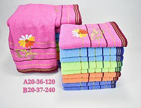 Полотенце для лица (50х100) микс цветов