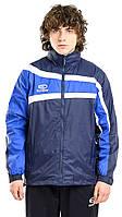 Куртка ветрозащитная Europaw TeamLine темно-синяя