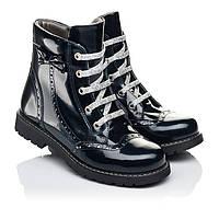 Обувь демисезонная для девочки,кожаные, лаковые,ортопедические.Турция.Woopy 7095/р32-39