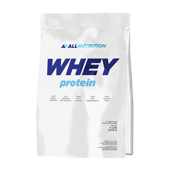 Протеин AllNutrition Whey Protein, 2.27 кг Белый шоколад