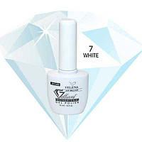 """Гель-Лак №007 White (белый) UV/LED """"Gelliant"""" 14 мл."""