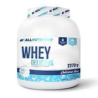 Протеин AllNutrition Whey Delicious, 2.27 кг Ваниль