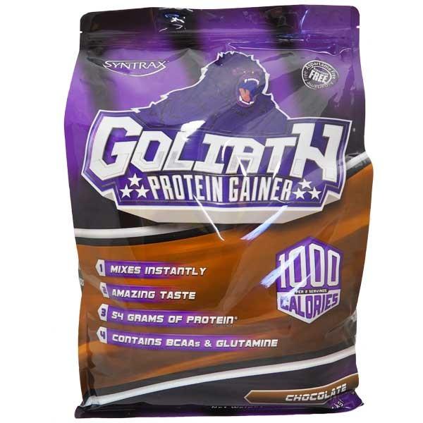 Гейнер Syntrax Goliath Protein Gainer, 5.44 кг Шоколад