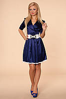 Женское платье с пышной юбкой . Размеры 42-52.