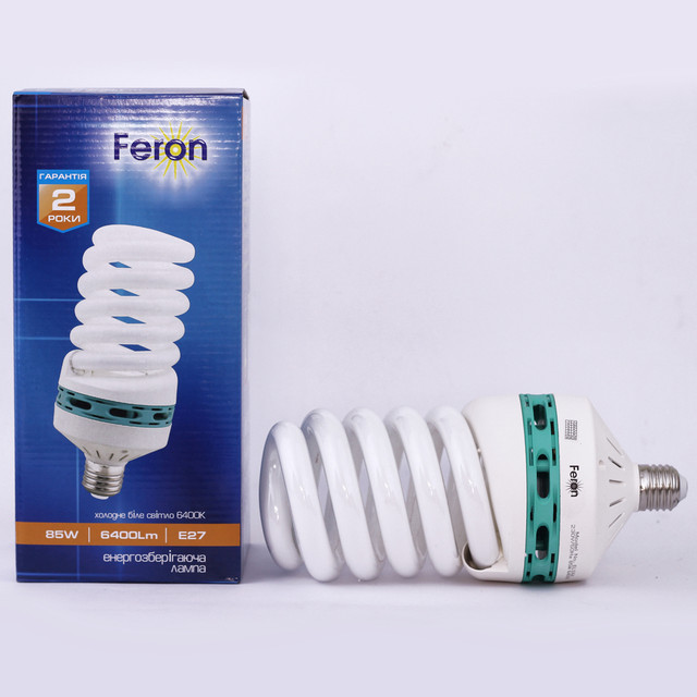 Энергосберегающие лампы с цоколем E40