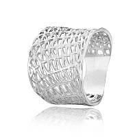 Серебряное кольцо  родированое КК2/062 - 19