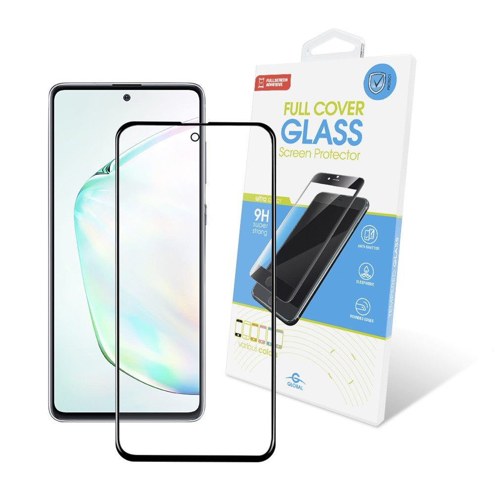 Защитное стекло Global для Samsung Galaxy Note10 Lite SM-N770 Full Glue Black (1283126497926)