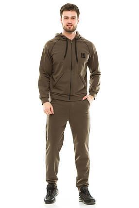 Мужской спортивный костюм 703 хаки 48, фото 2