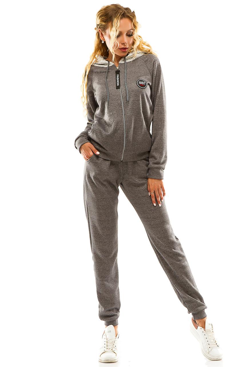 Спортивный костюм 5712 темно-серый размер 50-52